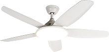 Ceiling fan white incl. remote control - Vifte
