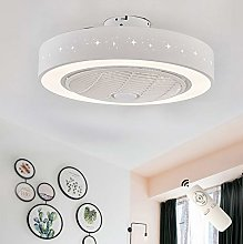 Ceiling Fan with Lighting, Round American Acrylic