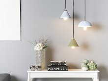Ceiling Lamp Blue Metal 162 cm Pendant Modern