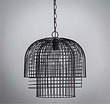 Ceiling Lamp Vintage Wrought Iron Chandelier