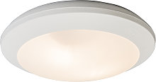 Ceiling Lamp White with Sensors IP65 - Umberta