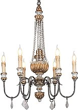 Ceiling Light E14 Classic Country Chandelier