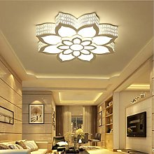 Ceiling Light Modern LED Flower Dimmable Remote