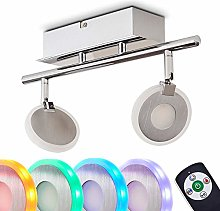 Ceiling Light Plumas 2 LED with Variable Colours