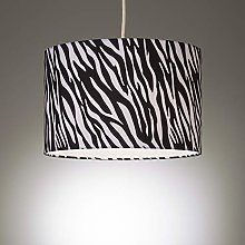 Ceiling Light Shade Pendant with Zebra Animal