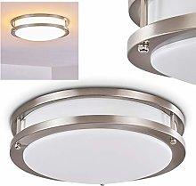 Ceiling Light Sora in Metal, matt Nickel - LED