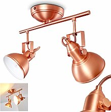 Ceiling Light Tina in Metal, Copper Finish - 2