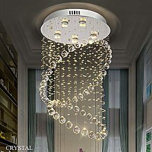 Ceiling Lights Modern Chandelier LED Spiral Sphere