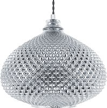 Ceiling Pendant Lamp Light Hanging Lantern Glass