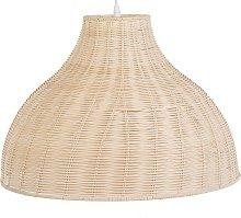 Ceiling Pendant Lamp Rattan Light Wood Modern Boho