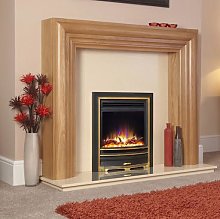 Celsi Electriflame Arcadia Inset Electric Fire Gold