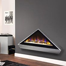 Celsi Electriflame Louvre Wall Mounted Electric