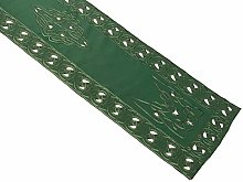 Celtic Knot Table Runner with Cutwork Detail