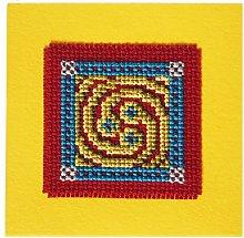 Celtic Spiral Keepsake Cross Stitch Kit by Textile