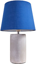 Cement Base Table Lamp Lounge Light Shades