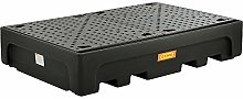 CEMO PE sump tray for IBC/CTC tank containers, for