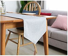 Cenliva Grey Bed Runner, Coffee Table Runner