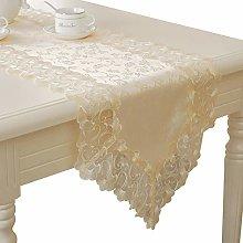 Cenliva Table Runner Beige Linen, Table Runner for