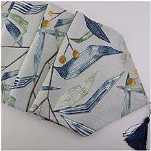 Cenliva Table Runner Long Blue, Large Rectangular
