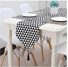 Cenliva Table Runner Luxury Black, Table Runners