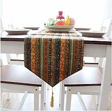 Cenliva Table Runner Non Slip, indian Vintage