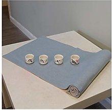 Cenliva Teal Runner, Dining Table Decor Cotton