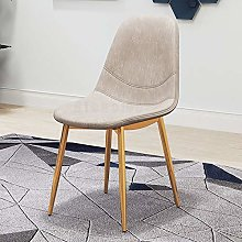 CENPEN Nordic Dining Chair Home Backrest Stool
