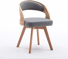 CENPEN Nordic Dining Chair Solid Wood Dining