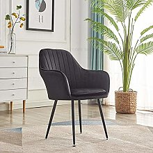 CENPEN Nordic Ins Net Red Desk Chair Dining Chair