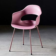 CENPEN Nordic Modern Dining Chairs Cafe Iron