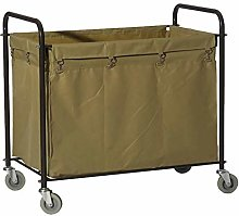 CENPEN Trolley On Wheels Tool Mobile Linen Car for