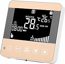 Central Air‑Conditioner Temperature Controller
