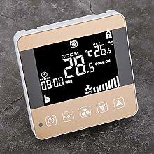 Central Air‑Conditioner Temperature Controller