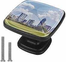 Central Park Panoramic Tall Buildings 4 Packs