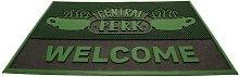 Central Perk Welcome Door Mat (One Size) (Green) -