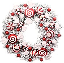 CENZY Artificial Christmas Wreath with Candy