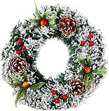 CENZY Christmas Garlands Xmsa Wreath Wall Hanging