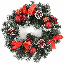 CENZY LED Christmas Wreath Front Door Hanging