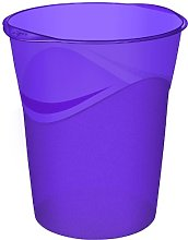 CEP Pro Happy 14L Waste Bin - Deep Purple