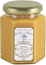 Cerabella - 6x8.5cm Honey & Biscuits Candle