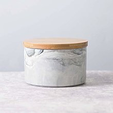 Ceramic Canister Marble Color Coffee Tea Sugar