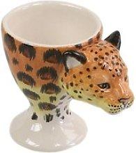Ceramic Cheetah Egg Cup