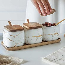 Ceramic Coffee Canister Set for Kitchen Counter