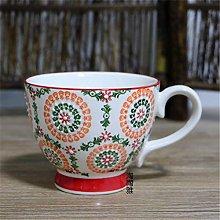 Ceramic Coffee Cup Nordic Hand-Painted Ceramic