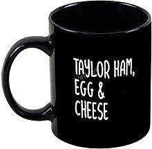 Ceramic Coffee Mug Taylor Ham, Egg and Cheese