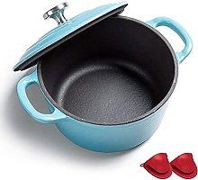 Ceramic cooking pot Cast Iron Pot with Lid Dutch