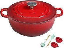 Ceramic cooking pot Cast Iron Pot with Lid
