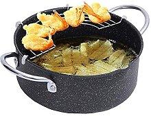 Ceramic Cooking Pot Deep Fryer,Hard Anodized