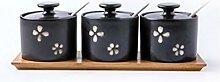 Ceramic Cruet, Home Creative Three-Piece Spice