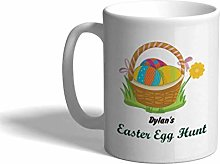 Ceramic Custom Coffee Mug 11 Ounces Easter Egg in